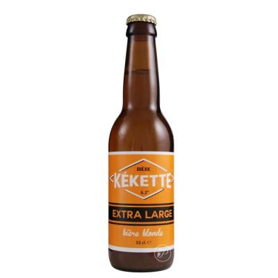 Kekette bière 33 cl (Bouteille de bière)