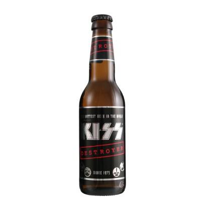 Bouteille de bière KISS Destroyer bière 33 cl