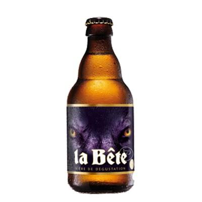 Bouteille de bière La Bête 33cl (Bouteille de bière)