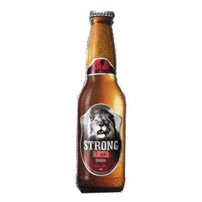 Bouteillle Lion Strong Beer du Sri Lanka 33cl