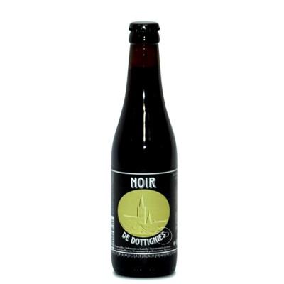 Bouteille de bière Noir de Dottignies 33cl - 9° (Bouteille de bière)