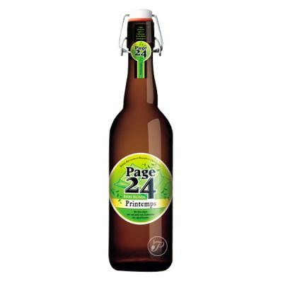 Bouteille de bière Page 24 Printemps 75cl