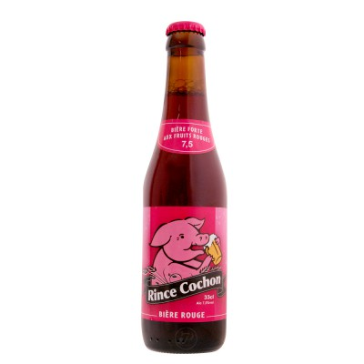 Bouteille Rince cochon Rose 33cl