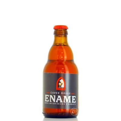 Bouteille de bière Ename rouge 33cl (Bouteille de bière)