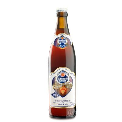 Bouteille de bière Schneider Aventinus 50cl (Bouteille de bière)