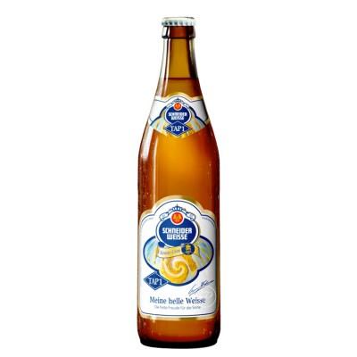 Bouteille de Bière Schneider Weisshelles TAP 1 - 50cl
