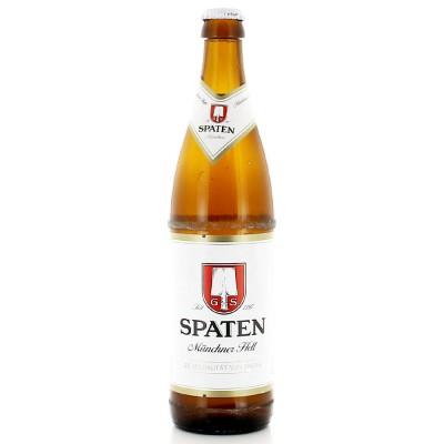 Bouteille de bière SPATEN MUNCHNER HELL 5.2° 50CL