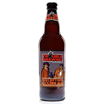Bouteille de bière Trouble Brewing Deception 50cl