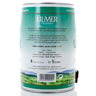 Fut bière Allemande ULMER PILS 5L