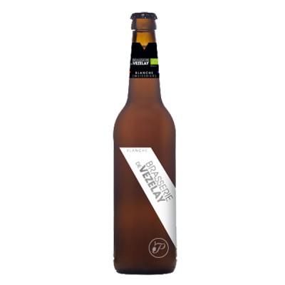 Bouteille de bière BIO blanche Vezelay 4,6° - 25cl (Bouteille de bière)
