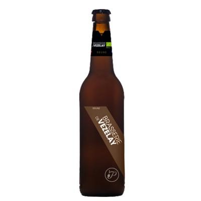 Bouteille de bière BIO brune Vezelay 5° - 25cl (Bouteille de bière)