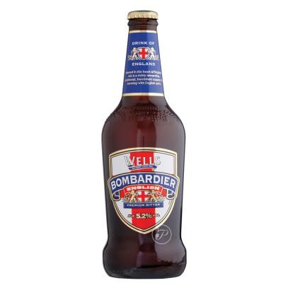 Bouteille de bière Bombardier Ale 50cl