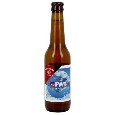 Bouteille de bière WHITE FRONTIERE FREERIDE World Tour 5° VP33CL