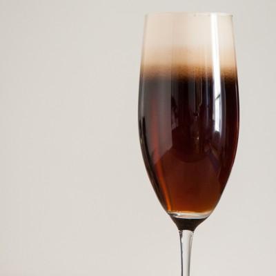 Cocktail St. Patrick - Black Velvet