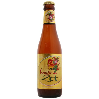 Bouteille Brugse Zot blonde 33cl