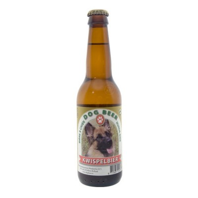 Bouteille bière pour chien Kwispelbier 33cl
