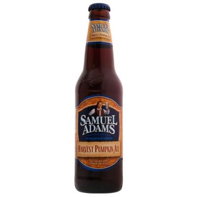 Bouteille Samuel Adams Harvest Pumpkin Ale 33cl