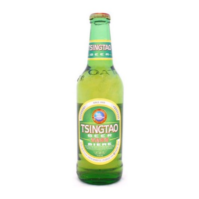 Bouteille Tsingtao chinoise 33 cl