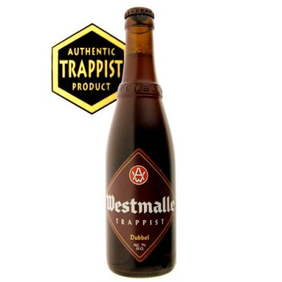 Bouteille Trappiste Westmalle double Brune 33cl