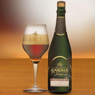 Bouteille de bière Carolus Indulgence et son Verre (11,7° - 75cl)