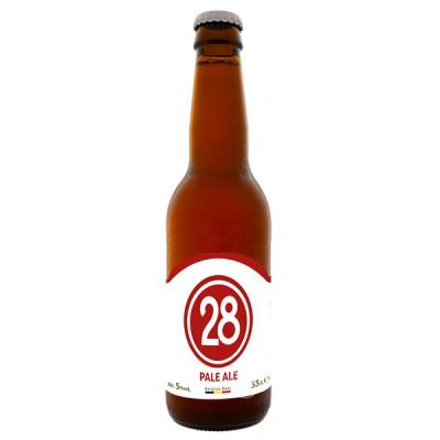 Bouteille de bière Caulier 28 Pale Ale 33cl