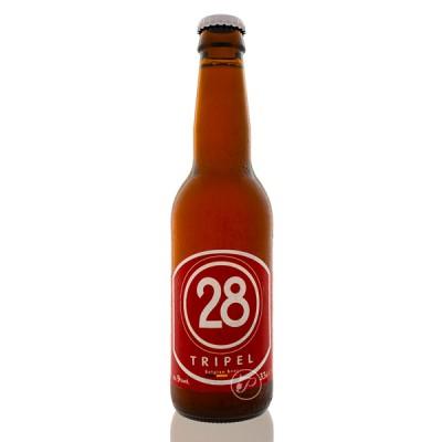 Bouteille de bière Caulier 28 Triple 33cl