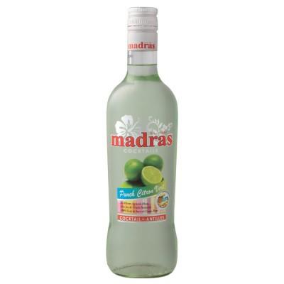 Bouteille de Punch Citron vert Madras (18° - 70cl.)