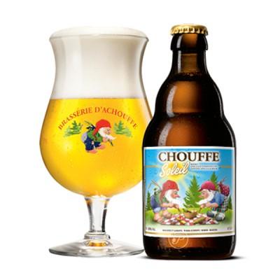 Bouteille de bière Chouffe soleil 33cl