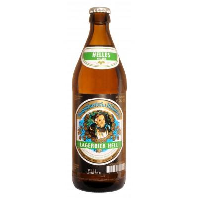 Bouteille de bière Augustiner Hell - 50cl - 5,2°