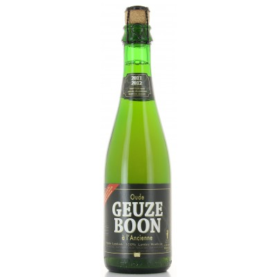 Bouteille de bière Boon Oud Gueuze Anc 37,5cl