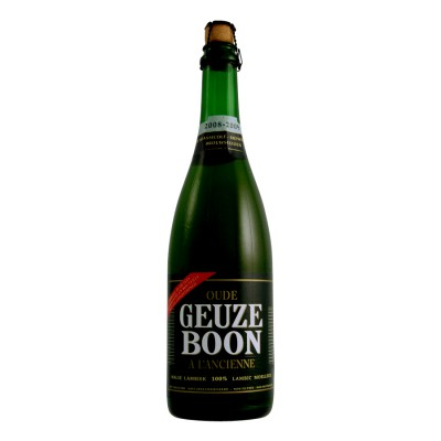 Bouteille de bière Boon Oud Gueuze Anc 75cl