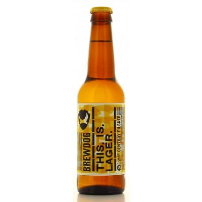 Bouteille de bière Brewdog This is Lager - 33cl - 4,7°