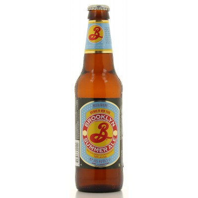 Bouteille de bière Brooklyn Summer Ale 35cl - 5°