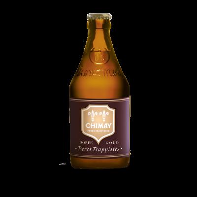 Bouteille de bière Chimay dorée 33cl - 4.8°