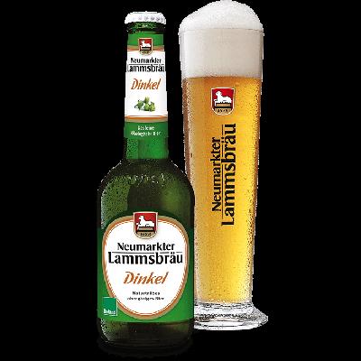 Bouteille de bière Lammsbrau Dinkel 33cl - 5,2°