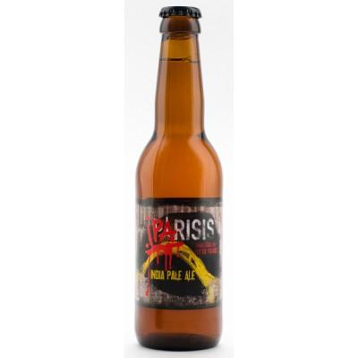 Bouteille de bière Parisis IPA 33cl - 6,2°