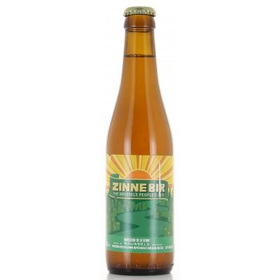 Bouteille de bière Zinnebir 33cl