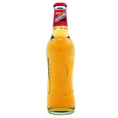 Brahma, bière du Brésil