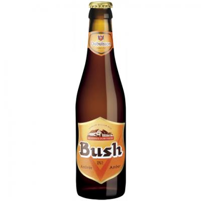 Bouteille Bush Ambrée 33cl