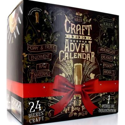Calendrier de l'Avent bière artisanale du monde