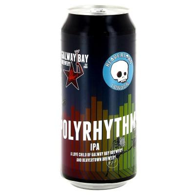 Bière Galway Bay & Beavertown - Polyrhythm New England IPA - 44cl