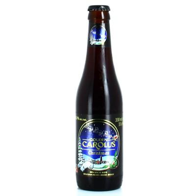 Bouteille de Bière Gouden Carolus XMASS 10,5° de 33cl