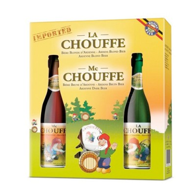 Chouffe 75 cl - Coffret bière belge