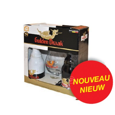 Coffret de bières Gulden Draak 2 X 33cl + 1 verre (Coffret de bière)