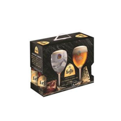 Coffret de bières Leffe 4 X 33cl + 2 verres (Coffret de bière)