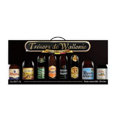 Coffret de bière trésors de Wallonie 6 X 33cl (Coffret de bière)