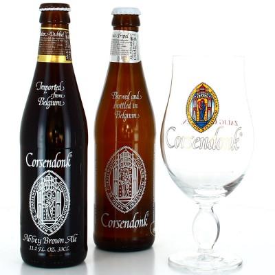 Coffret Corsendonk - 2 bouteilles 33cl + 1 verre