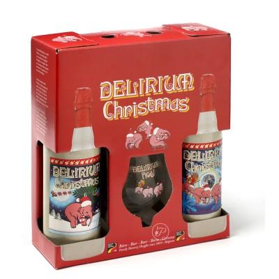 Coffret Delirium Christmas - Bière de Noël (Coffret de bière)
