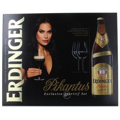 Coffret bière Erdinger Pikantus fermé