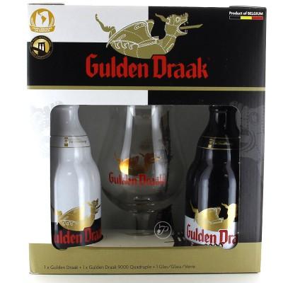 Coffret de 2 bouteilles de bière Gulden Draak